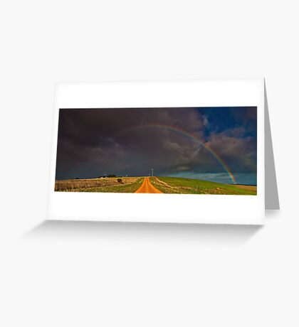 """Passage Through A Promise"" Greeting Card"