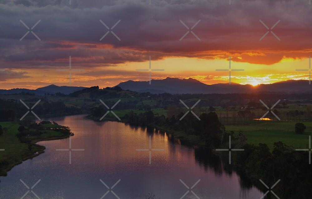 Manning Sunset by Liz Worth