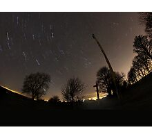 pbbyc - 120min Star Trail Photographic Print