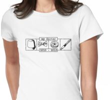 My Doctor (Smith) alt. Womens Fitted T-Shirt