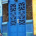 Blue door, Santa Teresa, Rio by fionapine