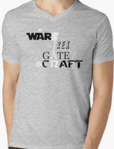 StarWARS/GATE/TREK/CRAFT Mens V-Neck T-Shirt