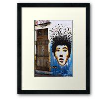 Creative graffiti, Olinda (Brazil) Framed Print