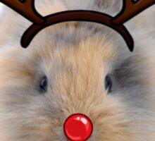 Bunny Rudolph Sticker