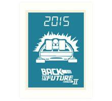 pbbyc - Back to the Future Pt 2 Art Print