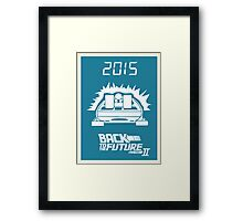 pbbyc - Back to the Future Pt 2 Framed Print
