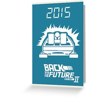 pbbyc - Back to the Future Pt 2 Greeting Card