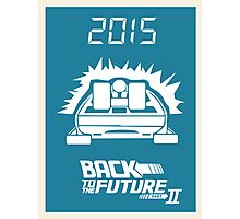 pbbyc - Back to the Future Pt 2 Photographic Print