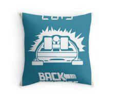 pbbyc - Back to the Future Pt 2 Throw Pillow