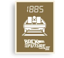 pbbyc - Back to the Future Pt 3 Canvas Print