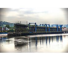 Staithes Tyne View Photographic Print