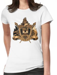 Adventures Womens Fitted T-Shirt
