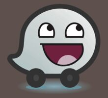 Awesome Waze Face - Boy Kids Clothes