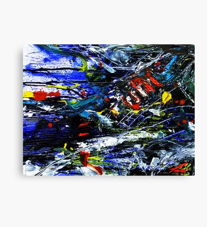 Moto Speeds Canvas Print