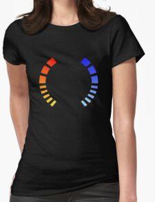 Health Bar Womens Fitted T-Shirt