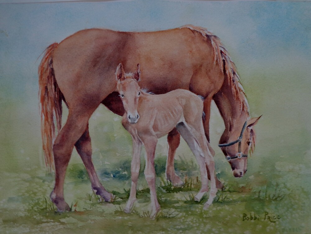 Hanging with Mom by Bobbi Price