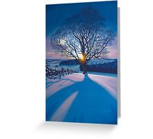 Atonement Tree - acrylic on canvas Greeting Card