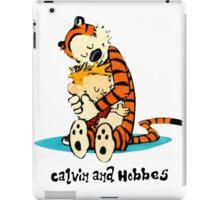 Hug Calvin and Hobbes iPad Case/Skin
