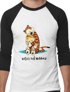 Hug Calvin and Hobbes Men's Baseball ¾ T-Shirt