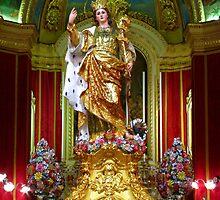 Saint Catherine by fajjenzu
