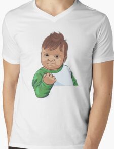 Success Kid Mens V-Neck T-Shirt