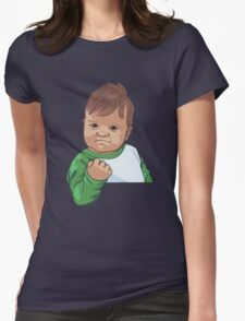 Success Kid Womens Fitted T-Shirt