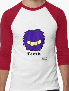 Linty & the Fuzzballs - Teeth Men's Baseball ¾ T-Shirt