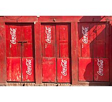 Coke within Photographic Print