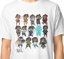 Korra all over Classic T-Shirt