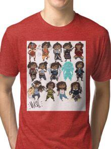 Korra all over Tri-blend T-Shirt