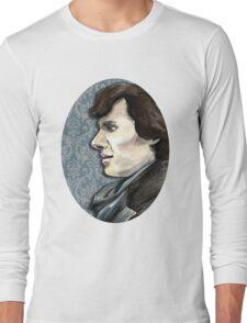 Sherlock Profile Long Sleeve T-Shirt