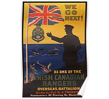 Reprint of a WWI Recruitment Poster Poster