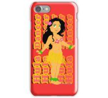 Hula Girl iPhone Case/Skin