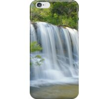 Falling before the falls iPhone Case/Skin