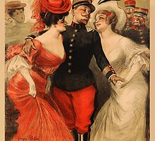Reprint of a French Army Recruiting Poster by Chris L Smith