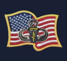 Special Forces Patch with U.S. Flag by Walter Colvin