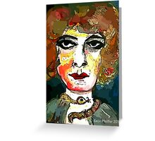 Marchesa Luisa Casati Portrait #1 Greeting Card