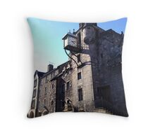 Canongate Tolbooth, on Edinburgh's Royal Mile.   Throw Pillow