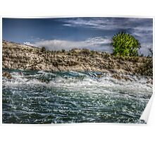 HDR River-Pueblo Colorado Poster