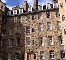 Mylne's Court. Old Town of Edinburgh by LBMcNicoll