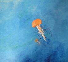 Jellyfish and the abyss  by Troy Clark