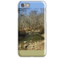 Wooded Creek iPhone Case/Skin