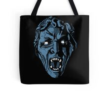 Scary Weeping Angel Tote Bag