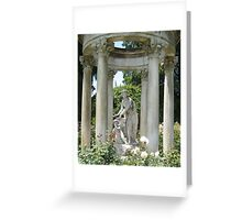 At the Huntington Library Greeting Card