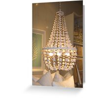 At the Bliss Home Design Boutique Greeting Card