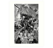 Brave New World on Ruskin. Art Print