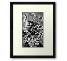 Brave New World on Ruskin. Framed Print
