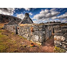 The Ruined Blackhouse Photographic Print