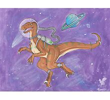 Space Raptor! Photographic Print