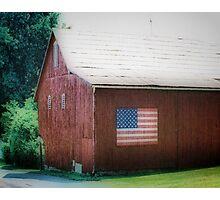 All American Barn Photographic Print